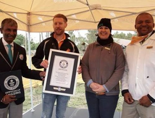 BREAKING NEWS:  SOUTH AFRICA SETS NEW GUINNESS WORLD RECORDS™