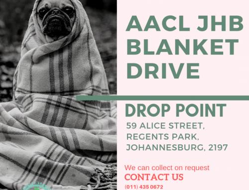 AACL JHB Blanket Drive 2019