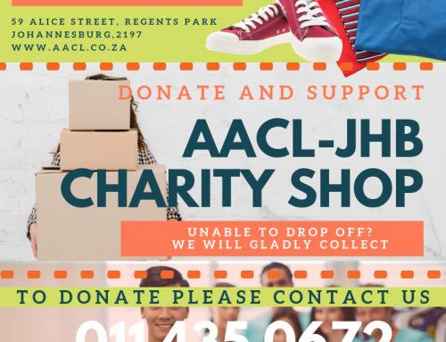 AACL-JHB Charity Shop