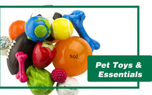 Pet Toys and Essentials